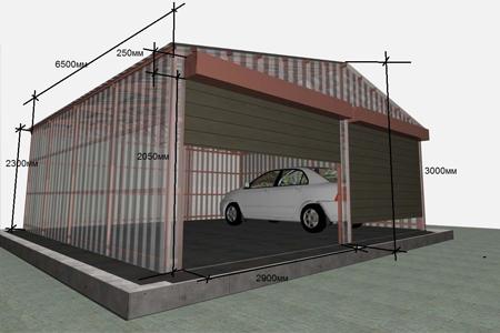 Изготовление гаражей в Одессе
