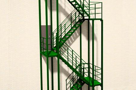 Изготовление пожарных лестниц в Одессе
