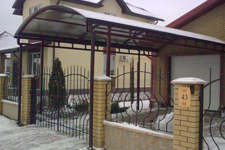 Козырьки, металлоконструкции в Одессе