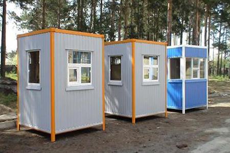 Изготовление постов охраны в Одессе