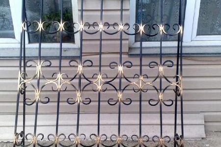 Изготовление металлических решеток в Одессе